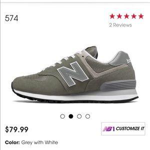 New Balance Shoes - New Balance Grey Classics 574